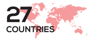 Canine Caviar Pet Foods Inc. is available in 27 Countries.