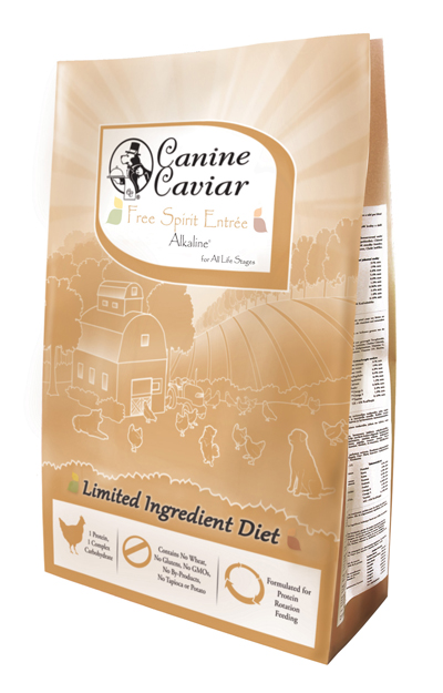 Canine Caviar Free Spirit - limited ingredient holistic dog food