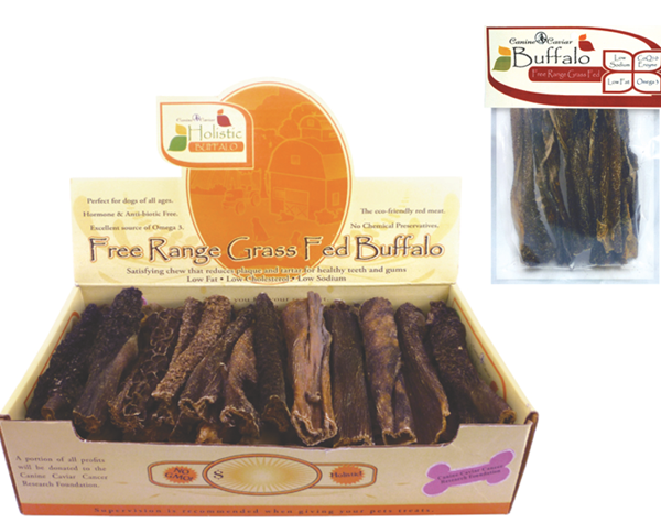 Canine Caviar Buffalo Vanilla Tripe Dog Treats