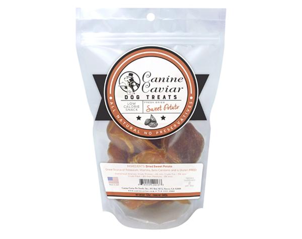 Canine Caviar Dried Sweet Potato - Canine Caviar Pet Foods Inc.