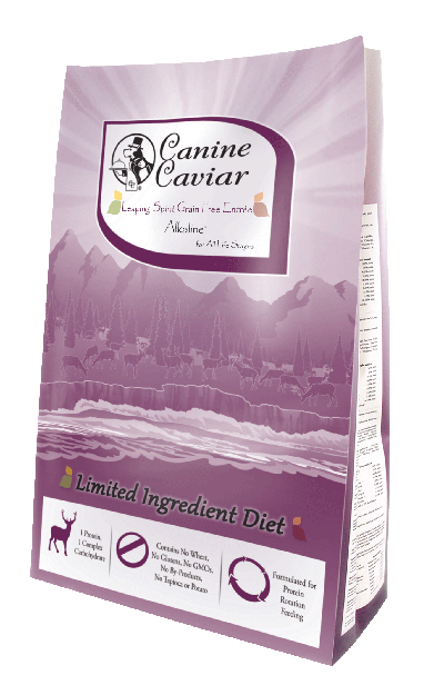 Canine Caviar Leaping Spirit - Limited ingredient dog food for nursing dogs