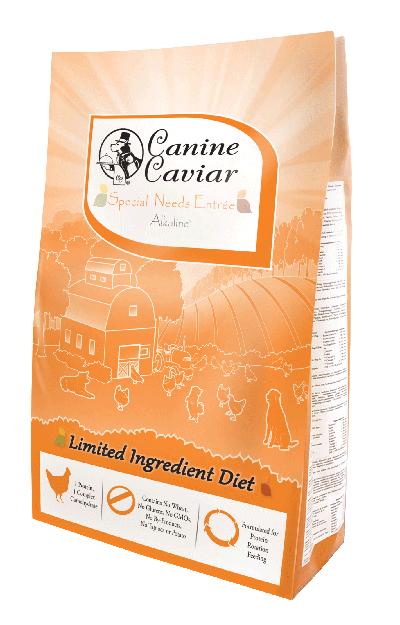 Canine Caviar Special Needs - best senior dog food.