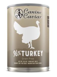 Canine Caviar Turkey Canned Dog Food
