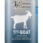 Canine Caviar 97% Goat Grain Free Canned Dog Food - Canine Caviar Pet Foods Inc.
