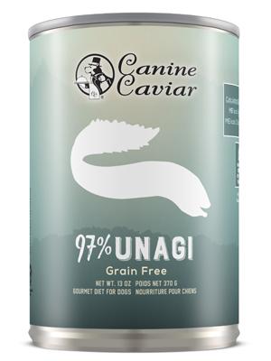 Canine Caviar 97% Unagi Grain Free Canned Dog Food - Canine Caviar Pet Foods Inc.