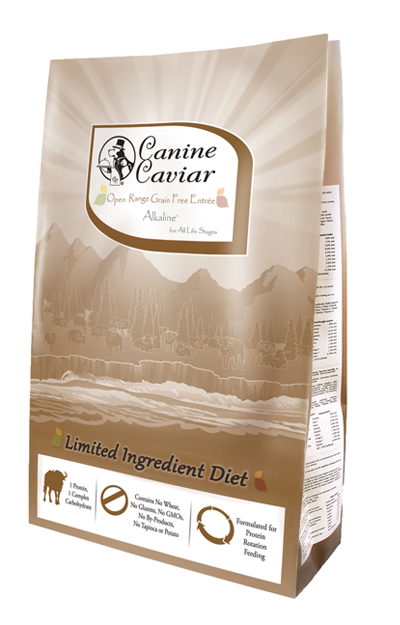 Canine Caviar Open Range Dry Buffalo Food Entree
